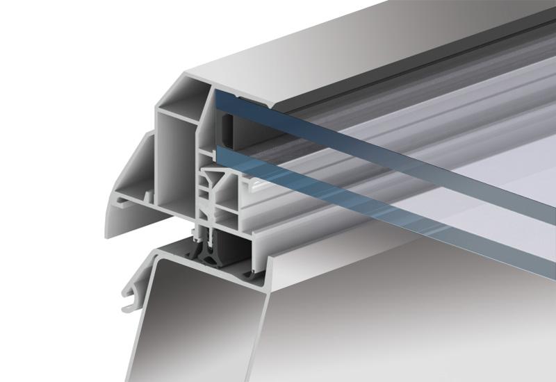 Il nuovo lucernario in vetro f100 vantaggi trasparenti for Vendita lucernari